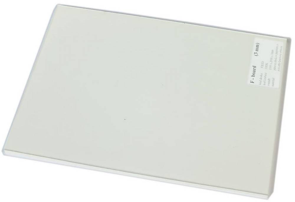 FB3K / F-BOARD 3 mm krabice polyethyl