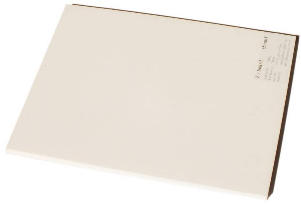 FB5K / F-BOARD 5mm (krabice) polyethyle