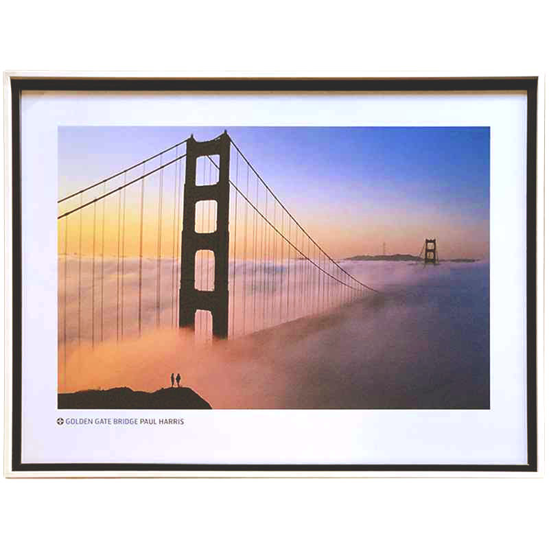 Golden Gate Bridge | Paul Harris | 84 x 64cm (Zarámovaný obraz)