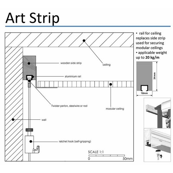 Art Strip montáž